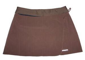 Patagonia Wrap Hiking  Running Skirt with Side Tie & Inner Shorts Women's L