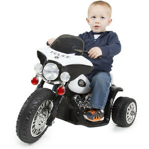Kids Powered 3 Wheel Mini Motorcycle Trike Ride Toy Durable Light Weight Ride