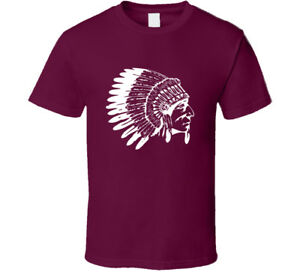 Indian Head Chief Native American T Shirt Mens Tee Gift New From US