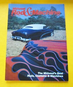 MIDWEST ROD amp; MACHINE MAGAZINE..SEPT OCT 1988..THE MIDWEST#x27;S BEST: RODS CUSTOMS
