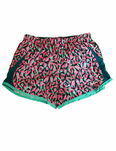 NEW Nike Running Youth Girl's Size M Shorts Pink Floral Camo Print 871938-640