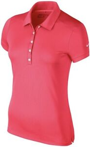 Womens Nike Golf Polo Dry Fit Short Sleeve Shirt Size Extra Small XS Msrp $55.99