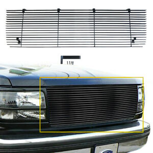 Horizontal Rectangle Tube Billet Grille Fits 92-96 Ford Bronco F-150/250/350