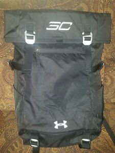 New Men's UA Under Armour Steph Curry 30.Signature Rolltop Backpack Black