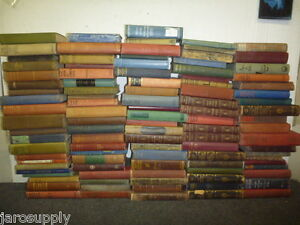 Lot of 10 Antique Collectible Vintage Old Rare Hard To Find Books *MIX UNSORTED* $29.95