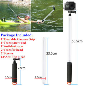 Extended Floating Hand Grip Handle Mount Accessory Float For GoPro Hero 5432