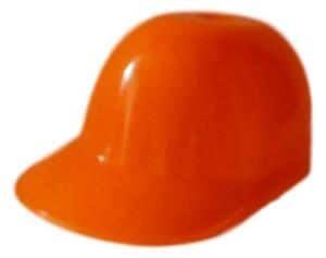 15  Orange Small Baseball Hats for Party Favors Made in America Food Safe