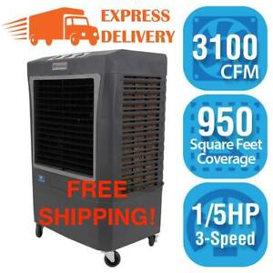 🔥Portable Evap RV Desert Cooler Outdoor Wet Air Commercial Evaporative Swamp