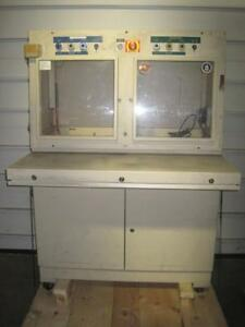 BRABENDER CABINET HOFFMAN ENCLOSURE DESIGN-LINE TYPE 12 CONTROL PANEL ENCLOSURE
