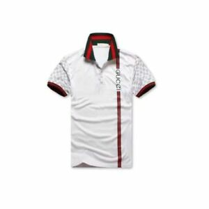 2 0 1 8 NEW 100% Authentic Gucci Polo Classic White T-Shirt