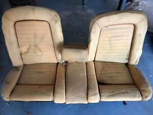 1965 - 1966 Mustang Front Bench Seat with Fold Down Arm Rest