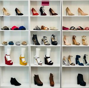 Women's Shoes Wholesale 500 pairs Brand New in Box lot heels sandals boots women