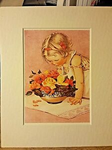 Portal Publications 1988 Smelling the Roses Smith Lithograph 8x10 100 ML4094  2 $14.99