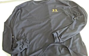Under Armour Black Long Sleeve Dry Fit Shirt - Size Adult lar44