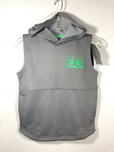 New $39 Under Armour Boys' Train to Game Sleeveless Hoodie  top shirt YSM 78