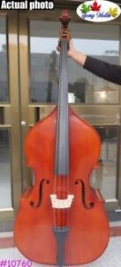 Hand-made solid wood professional Song master upright double bass 34