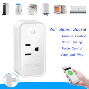 Home WIFI Plug Smart Power Wireless Switch Socket Timer For Alexa Google Home MN
