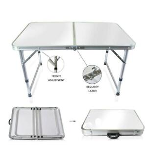 Aluminum Folding Table 4Portable Indoor Outdoor Picnic Party Camping Tables NEW