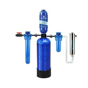 Austin Springs by Aquasana Rhino 6-Stage 500k Gallon Well Water Filter System wi