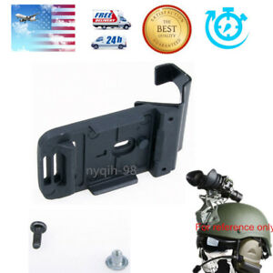 US Helmet Flashlight Mount WScrew Accessory For ACH MICH NVG PVS-7 14 NV Goggle