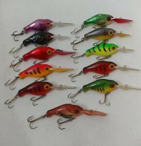 (11) Vintage Hawg Boss Super Toads Lot of 11 Fishing Lures