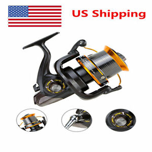 Spinning Fishing Reel with 12+1 Ball Bearings For Freshwater Sea Fishing T6J8