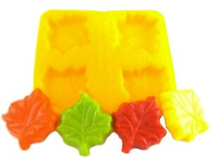 Maple Leaf Cream Cheese Mint Candy Fondant Chocolate Soap Mold Thanksgiving