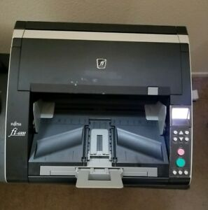 Fujitsu fi-6800 High Speed Scanner with 5 Sets of Rollers!! - PA03575-B005