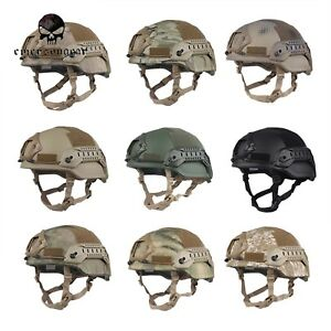 EMERSON Hunting military army Helmet Tactical ACH MICH 2002 Special Action