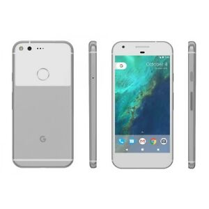 Google Pixel XL 32GB Very Silver Verizon Unlocked Shadow Image EZ01D5C0 (C3)