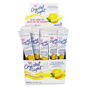 Crystal Light Flavored Drink Mix Lemonade 30 .17oz Packets/Box 79600