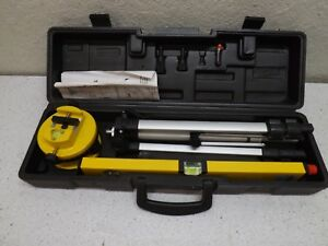 Professional Laser Level Tripod & Carrying Case Construction surveillance Tools
