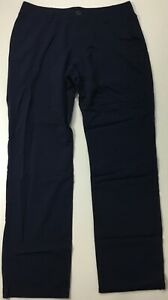 Under Armour Men's Golf Loose Pants Straight 1248089 Navy Blue 408 Size 38  32