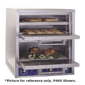 Bakers Pride P-46BL Brick Lined Electric Countertop Bake and Roast  Pizza Oven