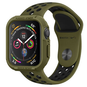 Apple Watch Series 4 Cover (40mm,44mm) Spigen® [Rugged Armor] Protective Case