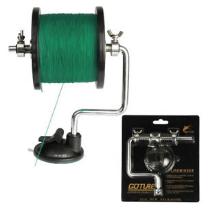 GOTURE Fishing Line Winder Detachable Portable Reel Spooler Winding Line Tackle