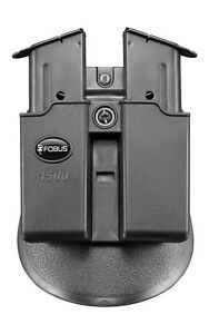 FOBUS TACTICAL PADDLE HOLSTER MAG POUCH MAGAZINE HOLDER SINGLE STACK 9 - 45 CAL