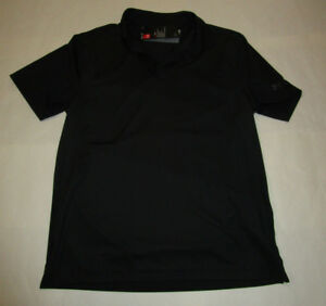 Nwt Mens Under Armour Black Gray Fitted Heat Gear Polo Golf Shirt Large