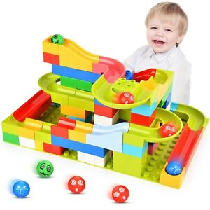 Marble Run Set Building Blocks For Toddlers Kids Construction Race Track Best