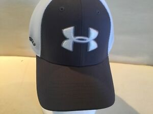 Under Armour Unisex Hat Golf Baseball New Cap Gray White  L XL Large Extra