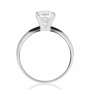 Christmas Enhanced Princess Diamond Engagement Ring 950 Platinum 1.02 CT FSI2