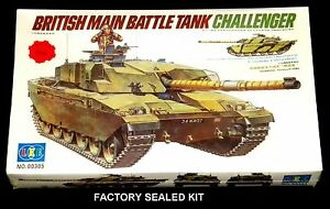 LEE 135 scale kit No 00305 CHALLENGER BRITISH MAIN BATTLE TANK Motorized Sealed