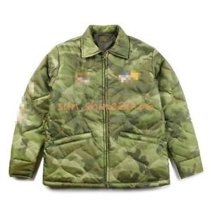 Men Military Embroidery Army Camo Bomber Jakcet Baseball Coat Parka Trench Chic