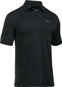 Under Armour Apparel Mens CoolSwitch Black Golf Polo 1292062 001 Size: M *NWT* $54.99