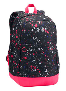 NEW Under Armour Bags Girls Favorite Backpack- PinkBlack 1277402-005 NWT