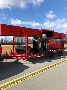 McPherson Systems Inc. M30F Trench Air Curtain Destructor Pit Burner For Rent