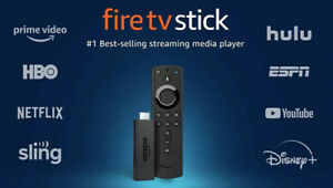 Amazon Fire TV Stick 2019 with Alexa Voice Remote streaming media player