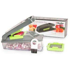 Onion Chopper Pro Vegetable Chopper by Mueller-Strongest Dicer-Kitchen Cutter