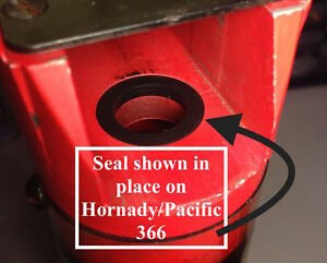 Lot of 6 - Pacific Hornady & Others Powder Measure Seal - Shot Measure Seal