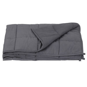 60quot; x80quot; Weighted Blanket Full Queen Size Reduce Stress Promote Deep Sleep 20lb